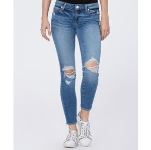 🎉NWT Paige Verdugo Skinny Ripped Crop Jeans🎉